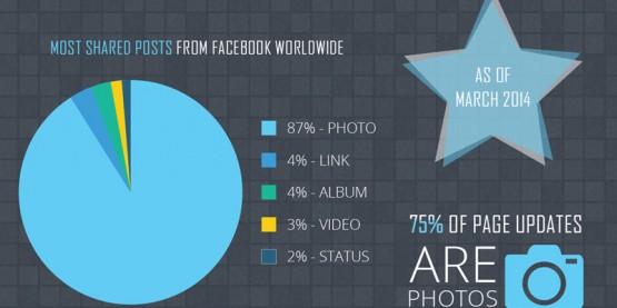 Statistiche foto su Facebook