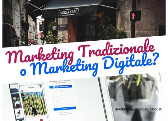marketing tradizionale o marketing digitale