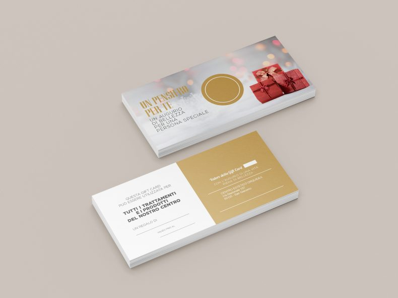 gift card personalizzabili natale